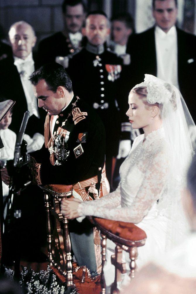 свадьба Грейс Келли и принц Ренье