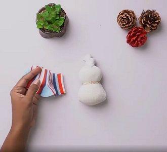 Сніговик своїми руками 2021 – прикрашаємо будинок улюбленим новорічним персонажем 7