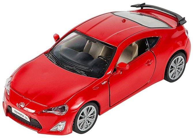 игрушечная машина красная