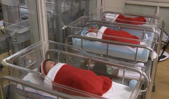 новорожденные в больнице