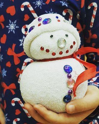 Сніговик своїми руками 2021 – прикрашаємо будинок улюбленим новорічним персонажем 11
