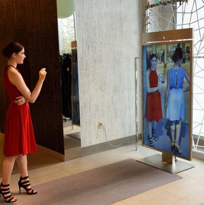 Примірочна-консультант і дзеркало-стиліст: що ще чекає нас в магазинах майбутнього? 1