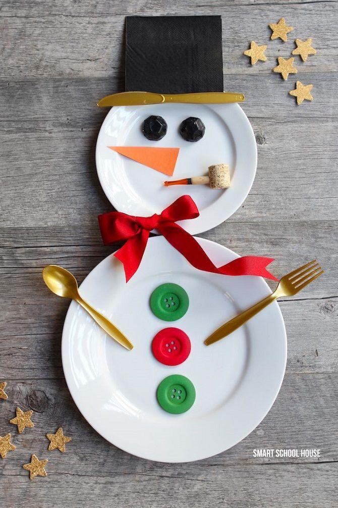 снеговик своими руками мастер класс пошагово