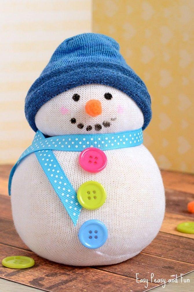 снеговик своими руками пошаговое