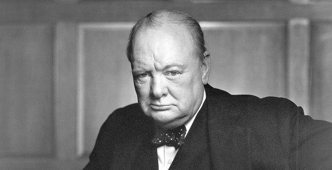 Уинстон Черчилль британский политик
