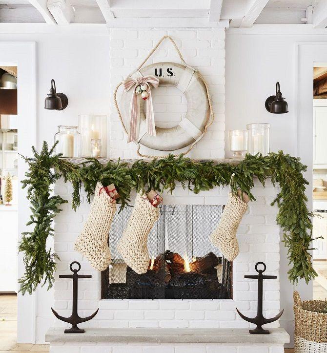 Рождественский венок своими руками: 5 стильных новогодних декоров 5