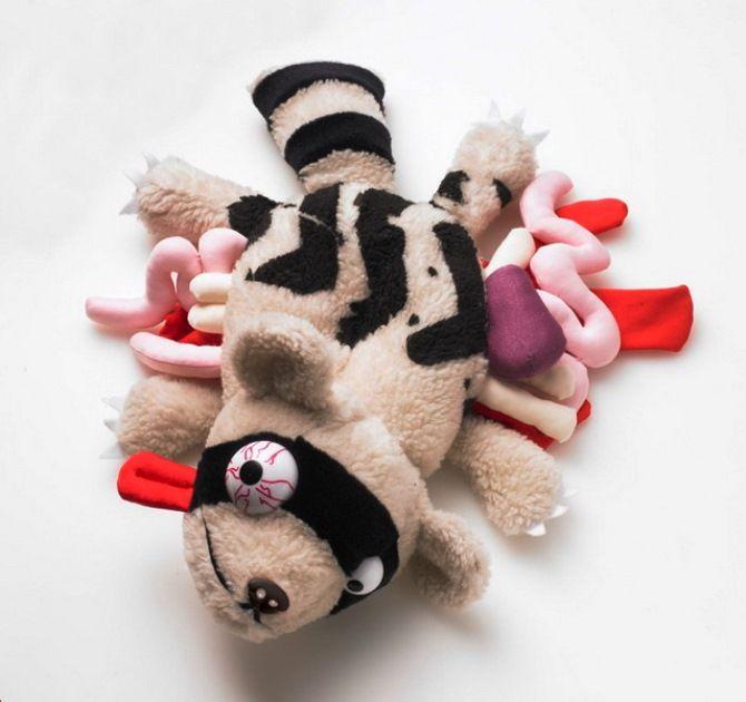 детская игрушка енот