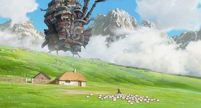 Мультфильм Ходячий замок 2004