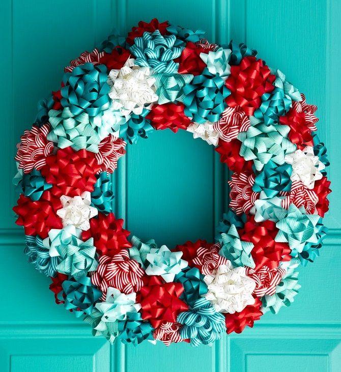 Рождественский венок своими руками: 5 стильных новогодних декоров 8