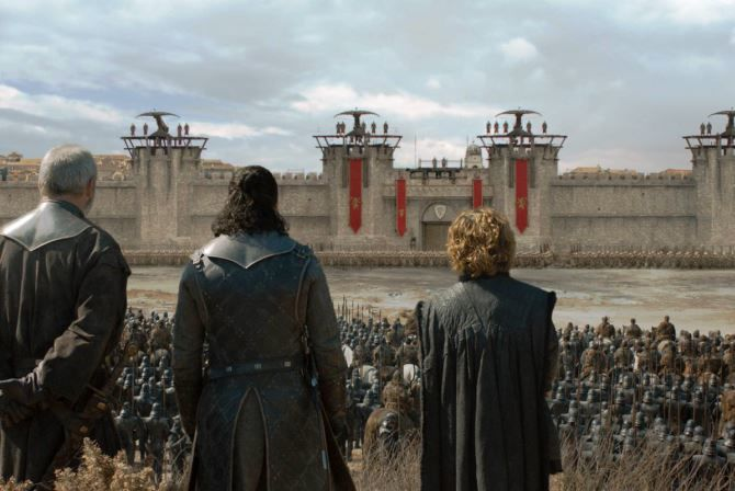 кадр из фильма игра престолов