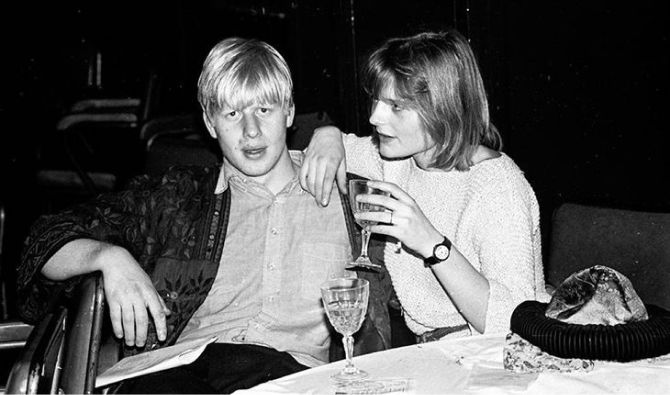 премьер-министр Великобритании Борис Джонсон в юности