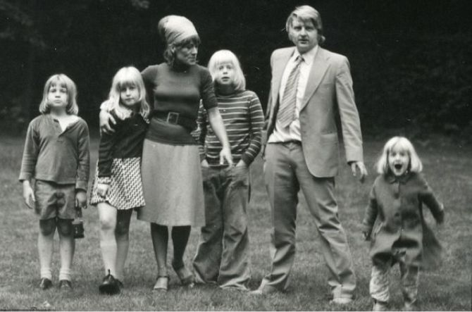 премьер-министр Великобритании Борис Джонсон в детстве