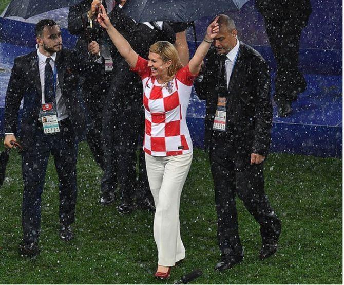 колинда Грабар Китанович, президент Хорватии