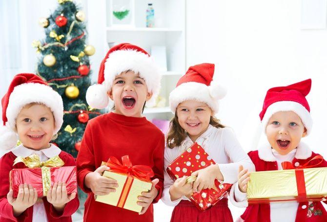 Новогодний подарок ребенку 3 года