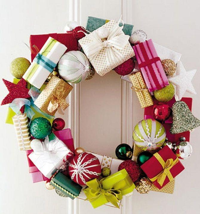 Рождественский венок своими руками: 5 стильных новогодних декоров 9