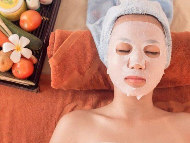 Тканинні оздоровчі маски для обличчя