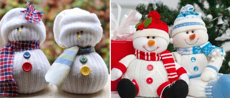Сніговик своїми руками 2021 – прикрашаємо будинок улюбленим новорічним персонажем