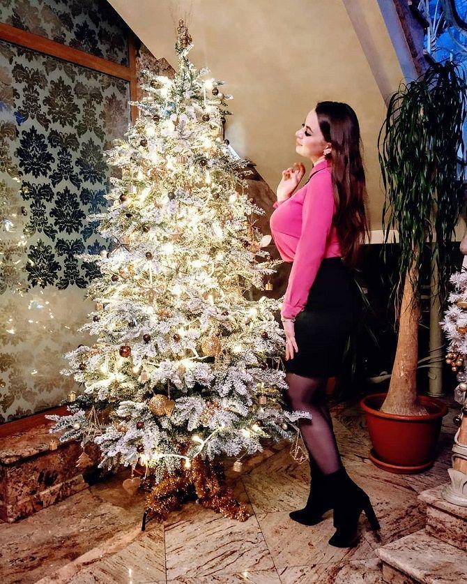 елка на новый год