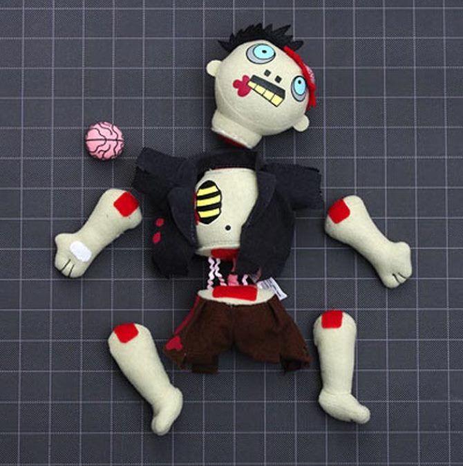 детская игрушка зомби