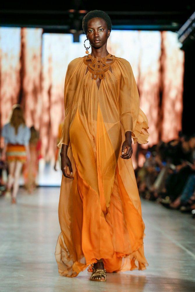 платье цвета Saffron (Шафран)