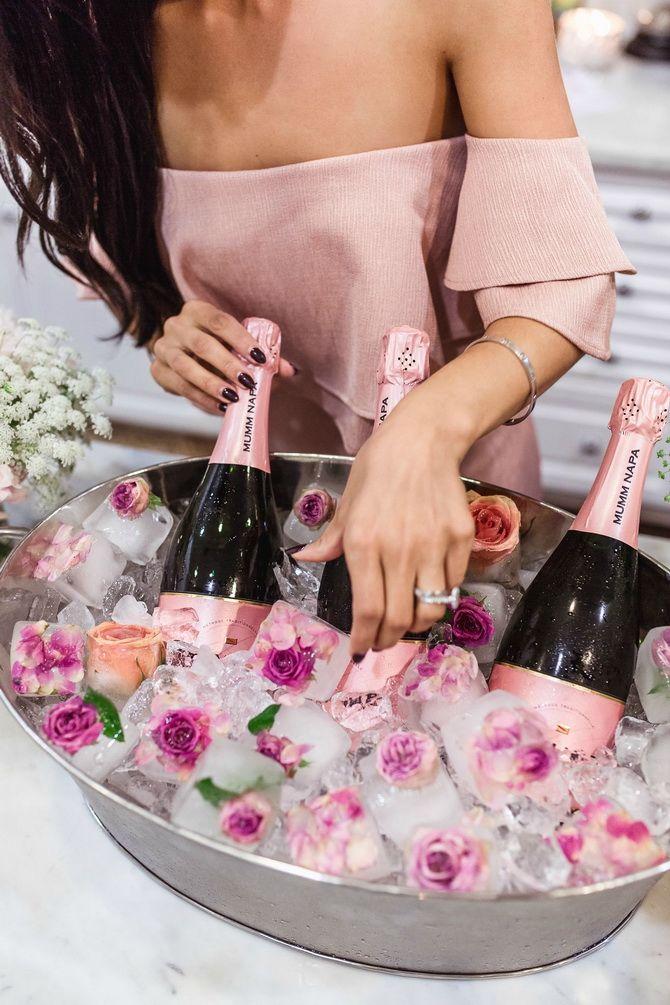 шампанское во льду