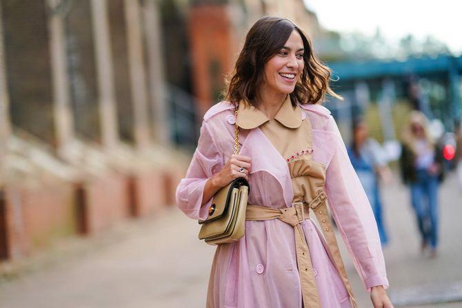 модные пальто с контрастным воротником