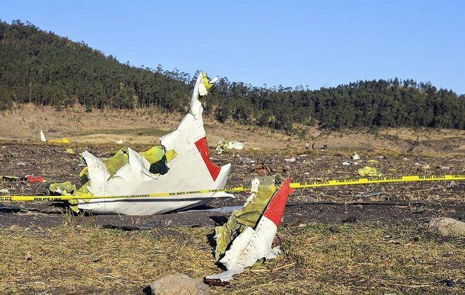 крушение Boeing-737 Ethiopian Airlines