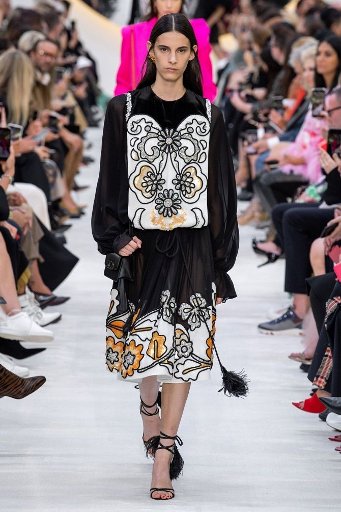 schwarzes Kleid 2020