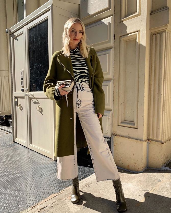 Cropped jeans styles