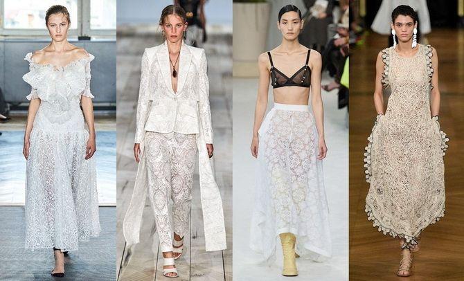 платья на моделях