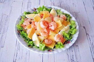 Прості і смачні рецепти салатів з креветками 2