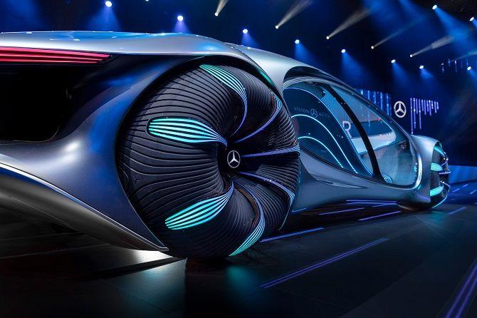 Это нереально! Mercedes-Benz создал футуристический автомобиль в стиле фильма «Аватар» 3