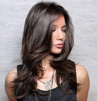 стрижки на длинные волосы 2020