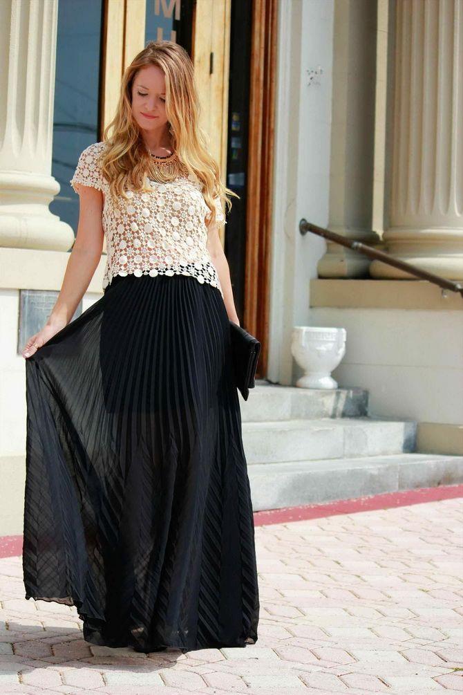 Floor length skirts