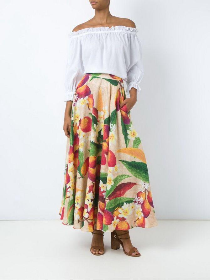 Floor length skirtsFloor length skirts