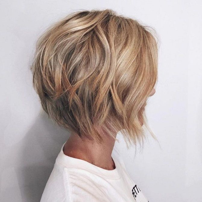 Fashionable haircuts for short hair 2020