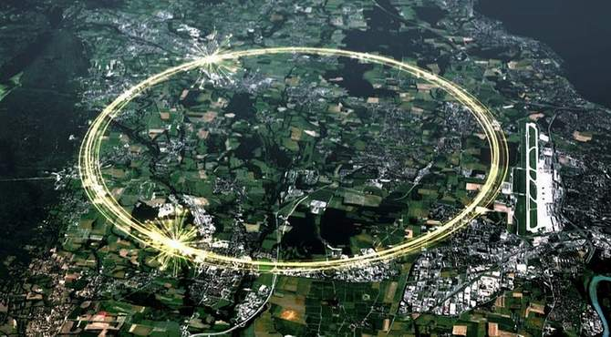 Строительство Большого адронного коллайдера