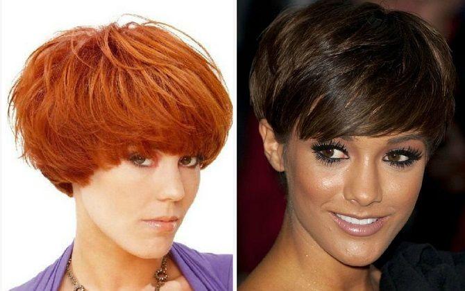New women's haircuts 2020: mushroom cut
