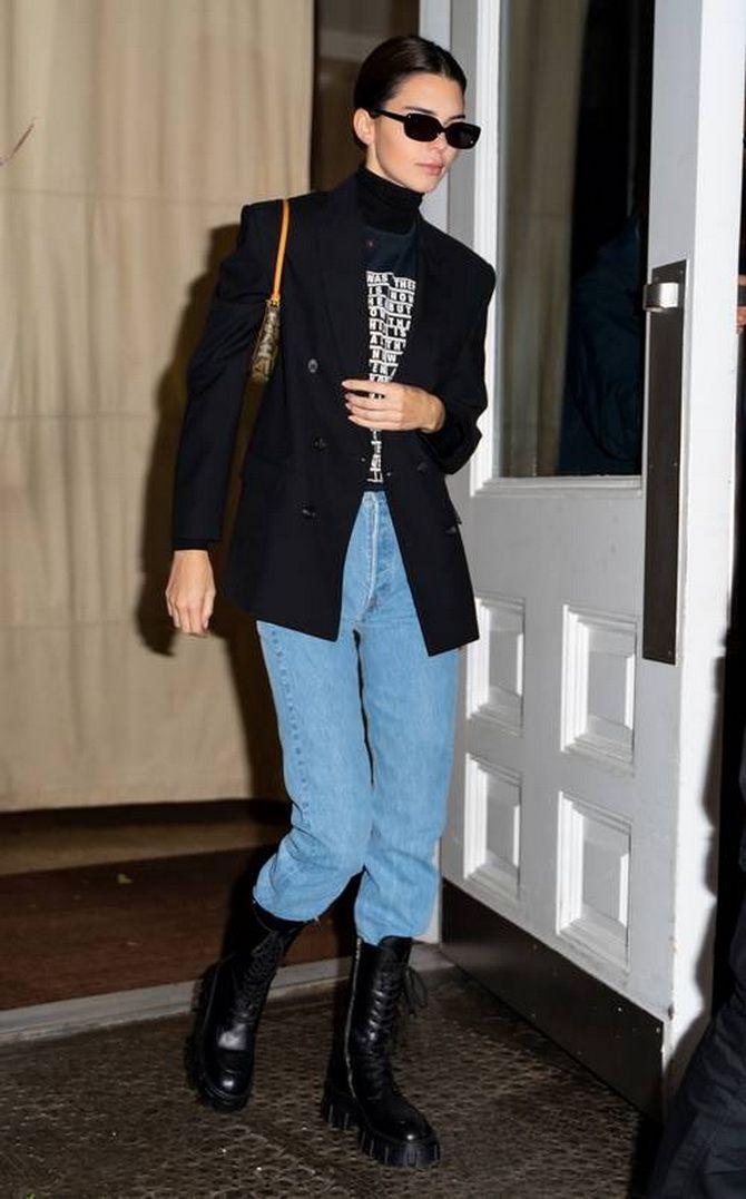 джинси з сапожками