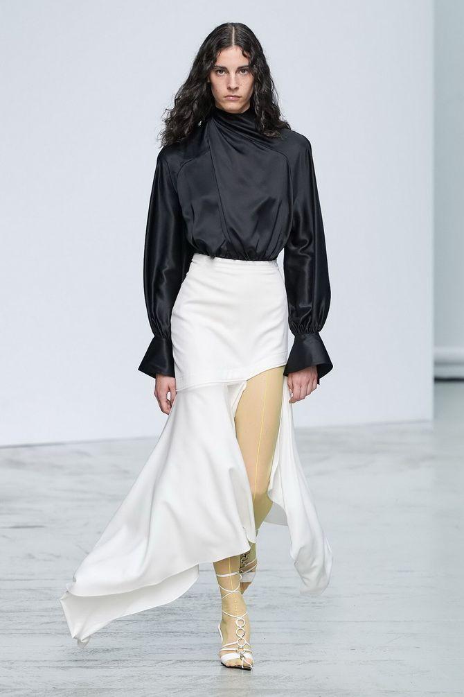 шелковые юбки