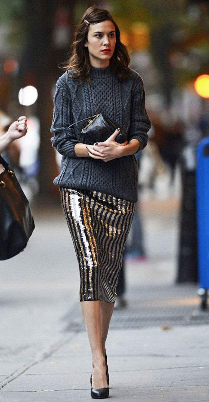 fashionable skirt for a girl