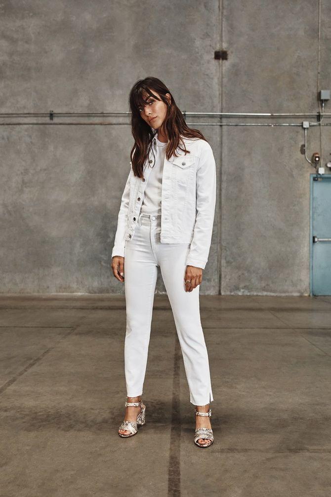 Білий джинс