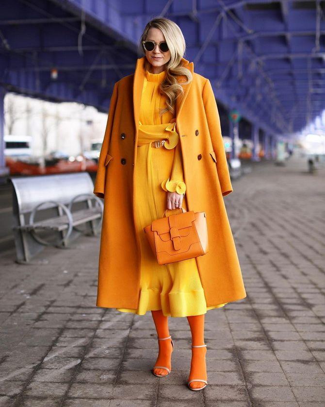 Тотал-лук с пальто