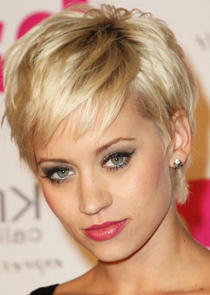 Short haircuts for thin, fuzz and sparse hair