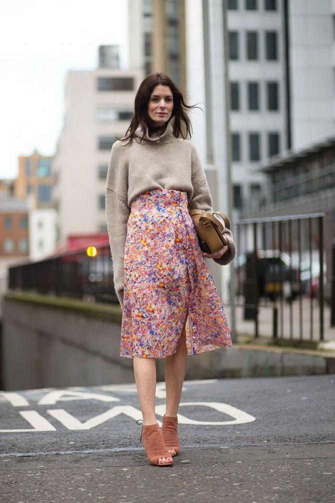 skirt in a flower