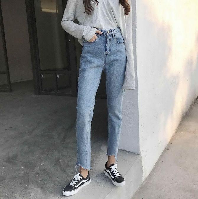 джинси зі зрізами 2020