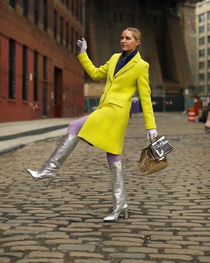 фисташковое пальто