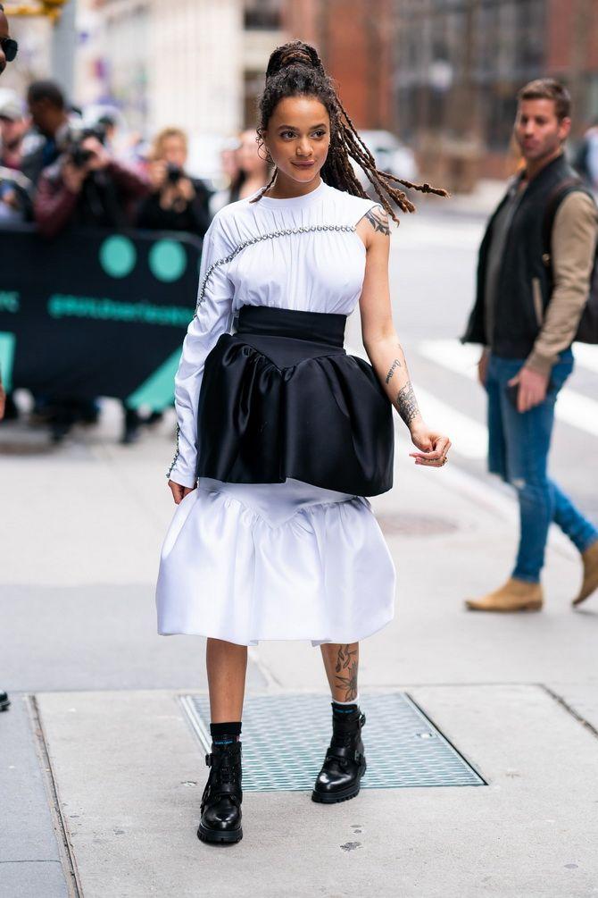 странная юбка