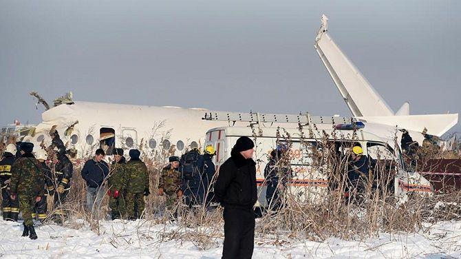 крушение Fokker-100