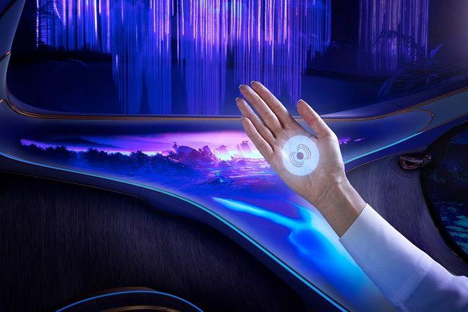 Это нереально! Mercedes-Benz создал футуристический автомобиль в стиле фильма «Аватар» 6